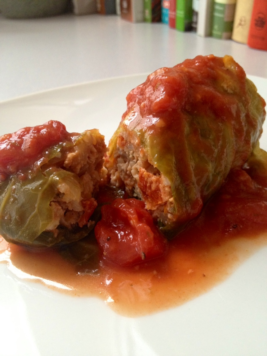 Making Stuffed Cabbage with Babcia Upstairs