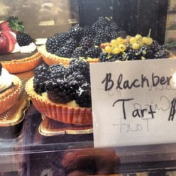 Chocolate, Blackberry, and Mixed Berry Tarts. Oh my!