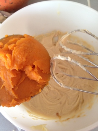 My two sweet potatoes made a little over one cup of puree