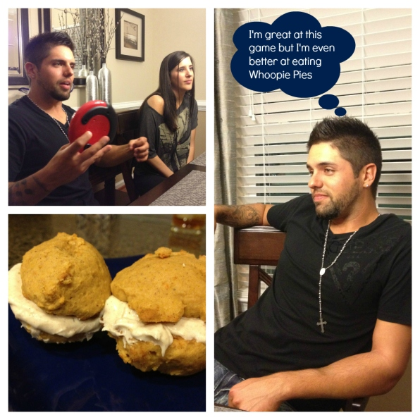 Yes, Bryan, your Whoopie Pie eating skills are epic