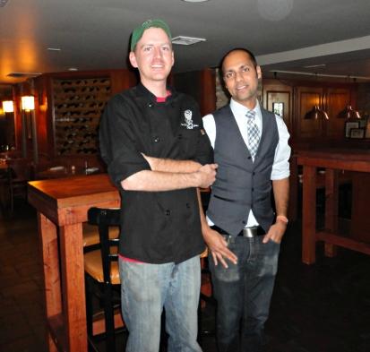 Jasper and Chef Brian