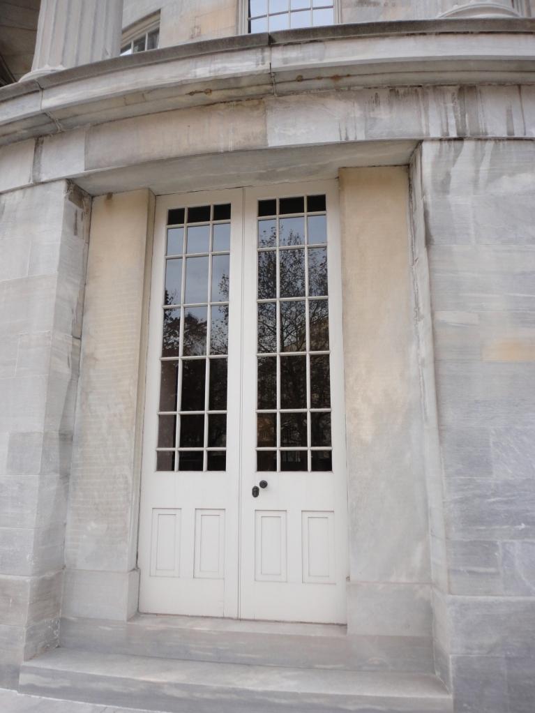 Another, larger door