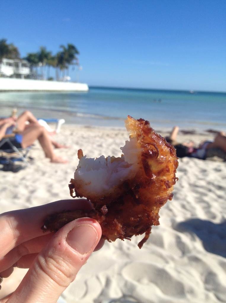 Coconut Shrimp. Local shrimp fried to perfection.