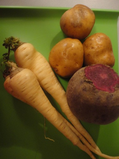 Lovely root veggies