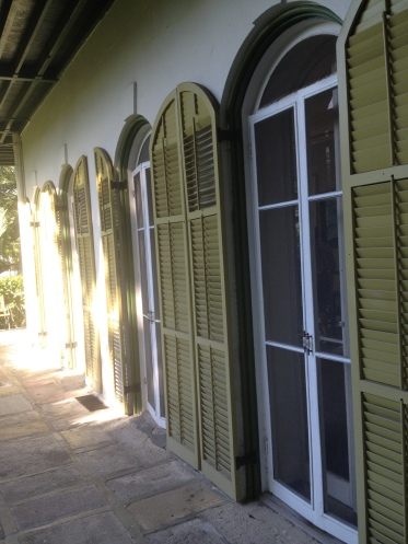 The first floor veranda, right off the living room