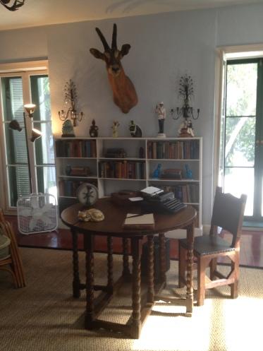 Hemingway's lovely study