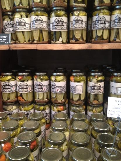Pretty as a pickle