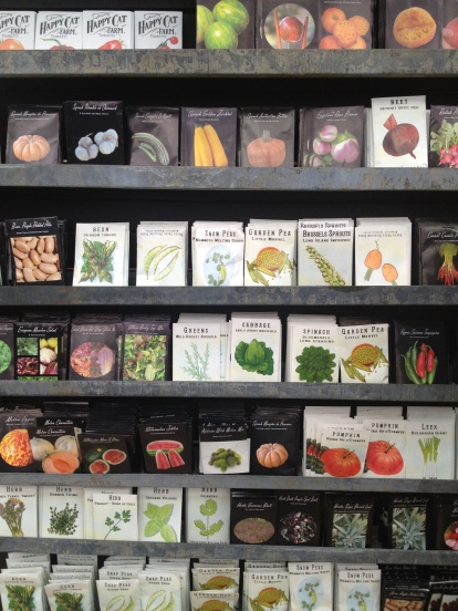 Pretty, pretty seed packets! (Maybe we can hope to plant these in June)