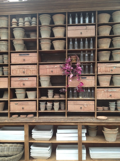 Potting shelves