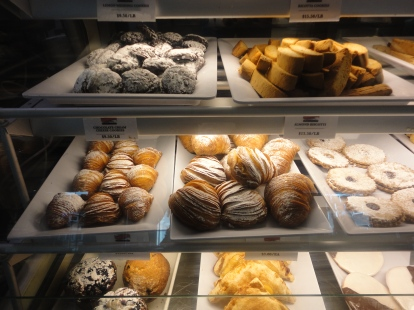 These pastries, cookies and desserts are made at their bakery location a few miles away