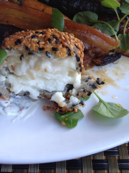Goat cheese always deserves a close-up