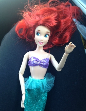 No, I do not own a Little Mermaid doll, that would be ridiculous