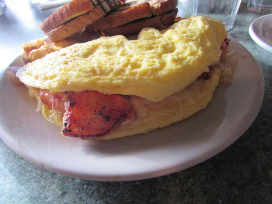 Well, hello there, Lobster Claw Omelette