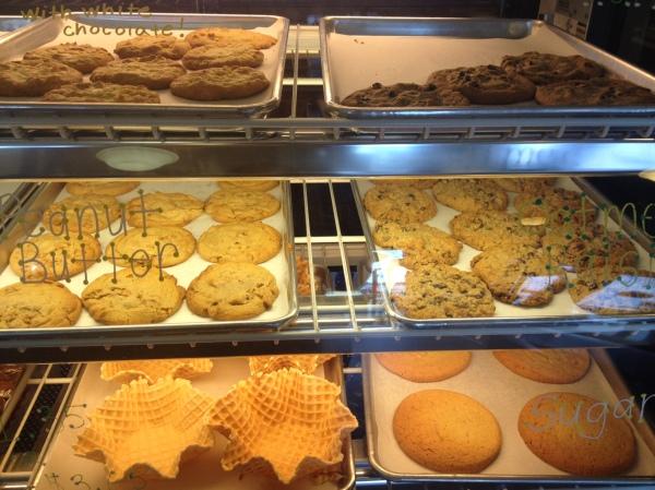 creamery bakery case